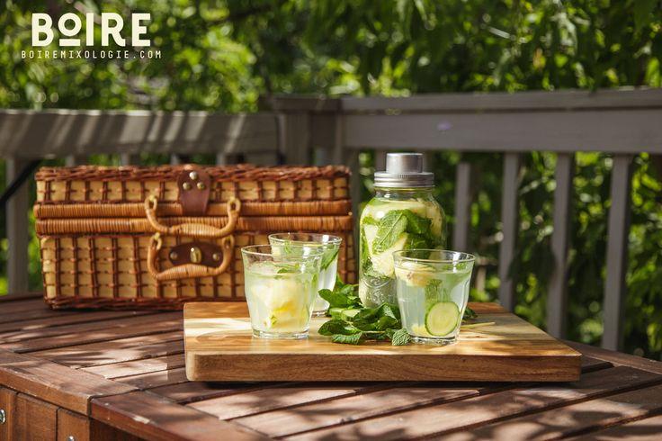 Une super recette de vodka infusé à base d'ananas. Facile et super bon! À voir sur boiremixologie.com