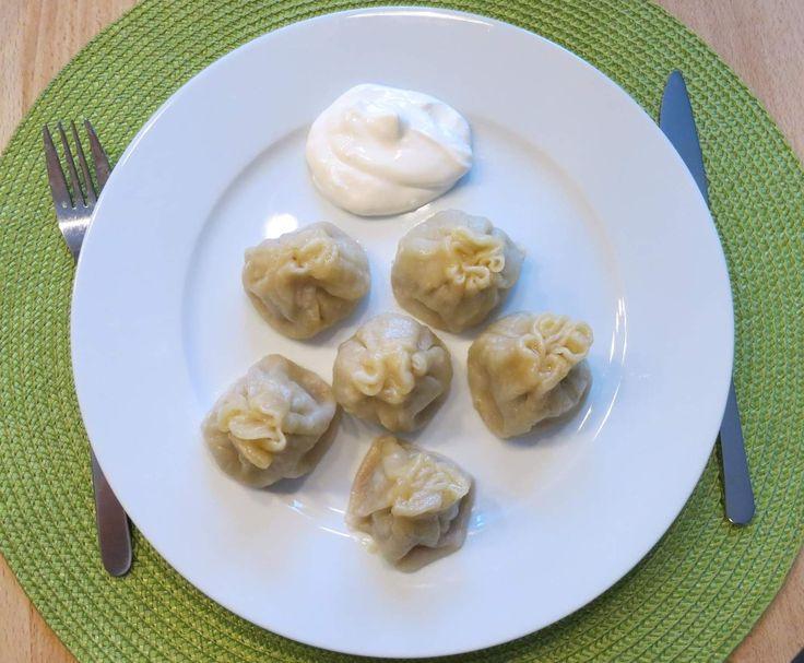 Rezept Mantji ala Emma (Variation: Russische Teigtaschen) von Anigreat2013 - Rezept der Kategorie Hauptgerichte mit Fleisch
