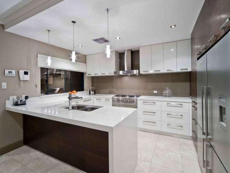 35 best u shaped kitchen designs images on pinterest kitchens kitchen modern and contemporary on u kitchen decor id=65770