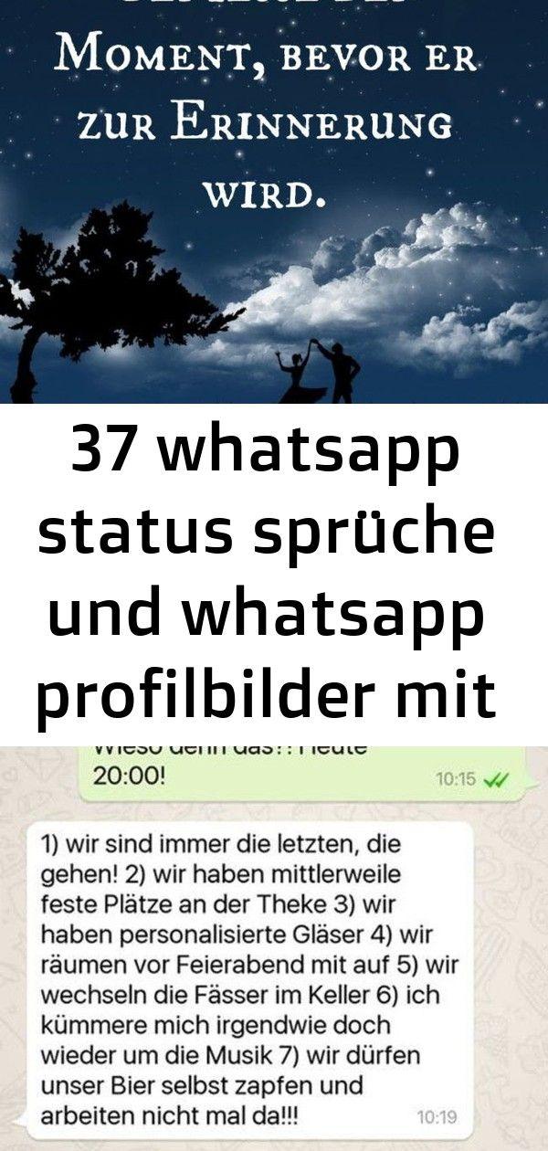 37 Whatsapp Status Spruche Und Whatsapp Profilbilder Mit Spruchen