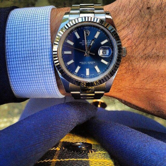 wristprn:  #Rolex #Datejust II   #WRISTPORN by @thecigarstrategist   www.wristporn.com (at www.WRISTPORN.com)