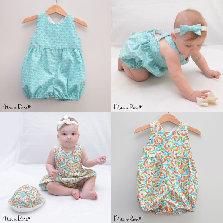 "Our ""Australia day"" collection is perfect for your little one!Made from 100% cotton, the fabrics feature Kangaroos and Boomerangs, perfect for your little one to celebrate Australia Day in style. Both sets are suitable for both boys and girls, however the Kangaroos set comes with a bow headband.'Boomerang' Romper"