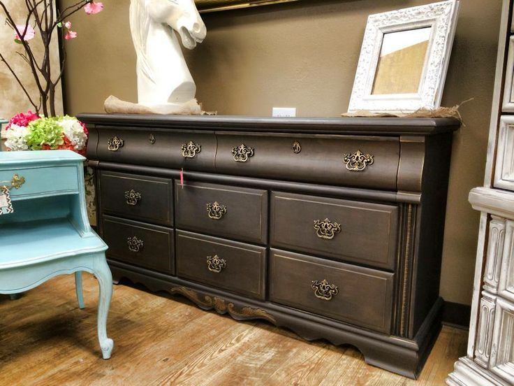 102 Best Images About Black And Charcoal Painted Furniture