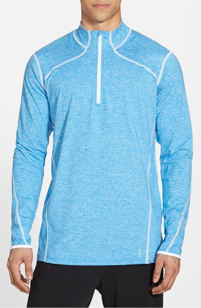 Main Image - SODO 'Elevate' Moisture Wicking Stretch Quarter Zip Pullover