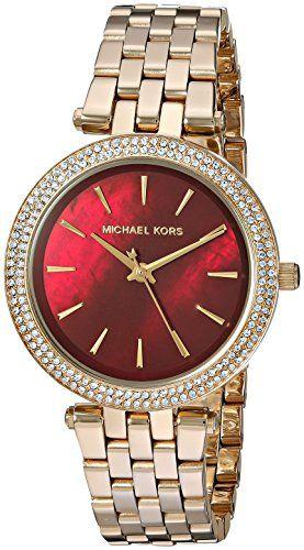 Michael Kors Women's Mini Darci Gold-Tone Watch MK3583 -- Visit the image li...