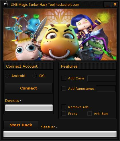 LINE Magic Tanker Hack Tool Download Android iOS