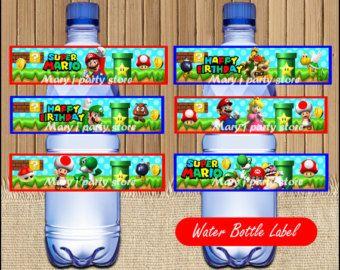 Descargar Banner de Mario Bros Mario Bros por Maryjpartystore