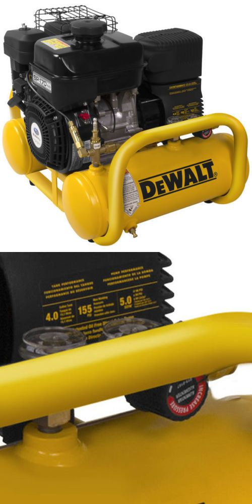 Air Compressors 30506: Dewalt 169Cc 4-Gallon Twin Stack Gas Air Compressor -> BUY IT NOW ONLY: $629.99 on eBay!