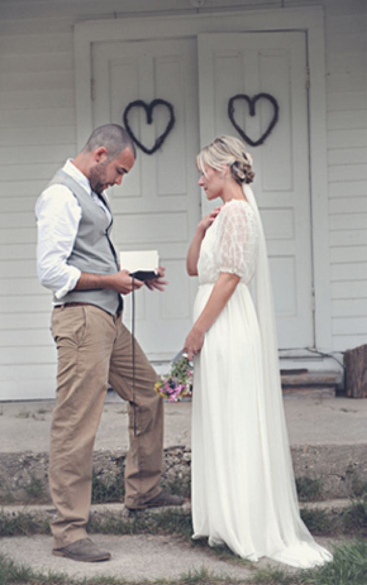 simple country wedding | CK: Simple and Lovely Wedding Dress