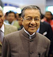 Tun Mahathir Mohamad, 4th PM of Malaysia. A legend in his own time.