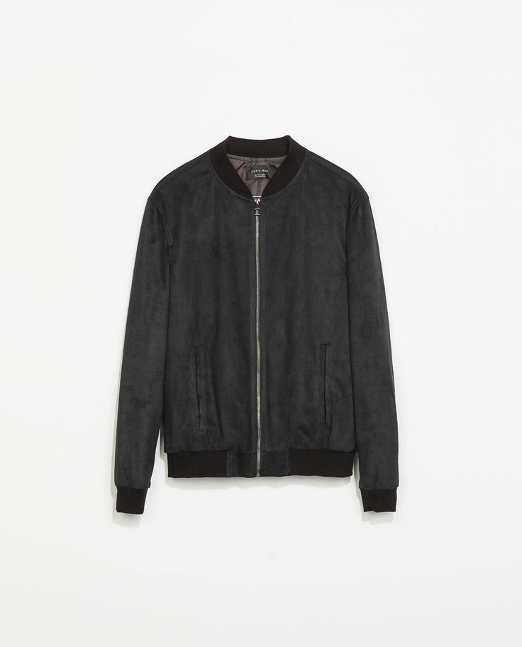ZARA - MAN - SUEDE JACKET