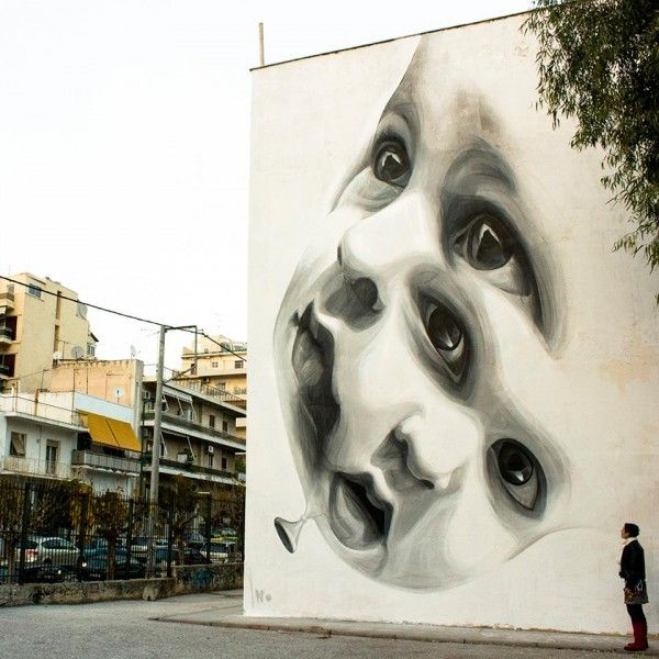 INO Street art, this upcoming Greek Street artist is a true source of inspiration.