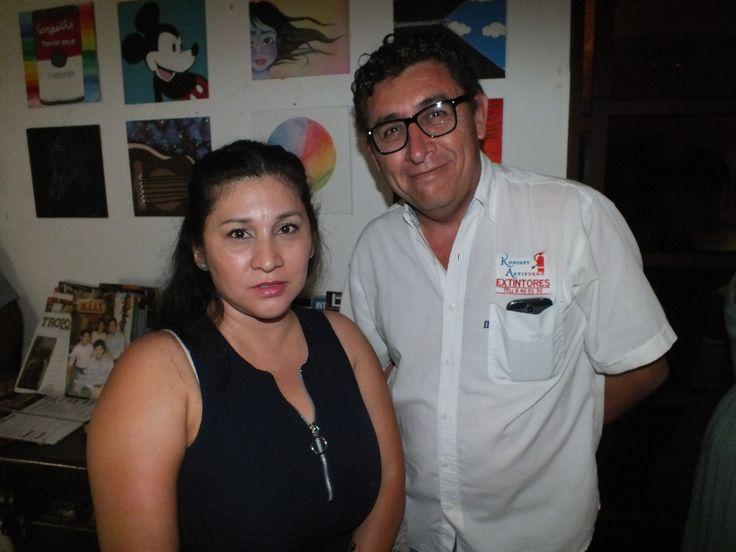 Veronica Cruz y Carlos Avila