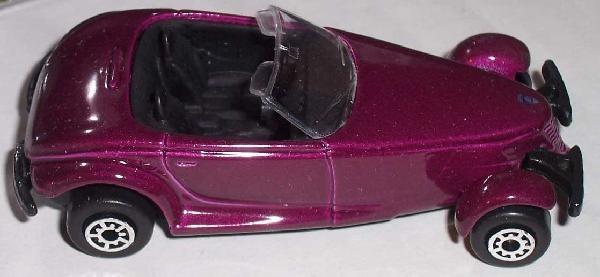 Maisto Special Edition Purple Plymouth Prowler Diecast Model NIB NEW