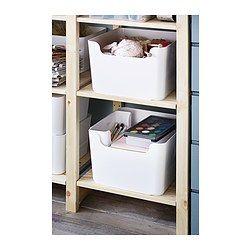 PLUGGIS Poubelle de tri, blanc - blanc - 14 l - IKEA