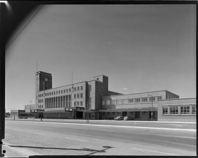 Christchurch Railway Station 1960's [So Long Farewell]