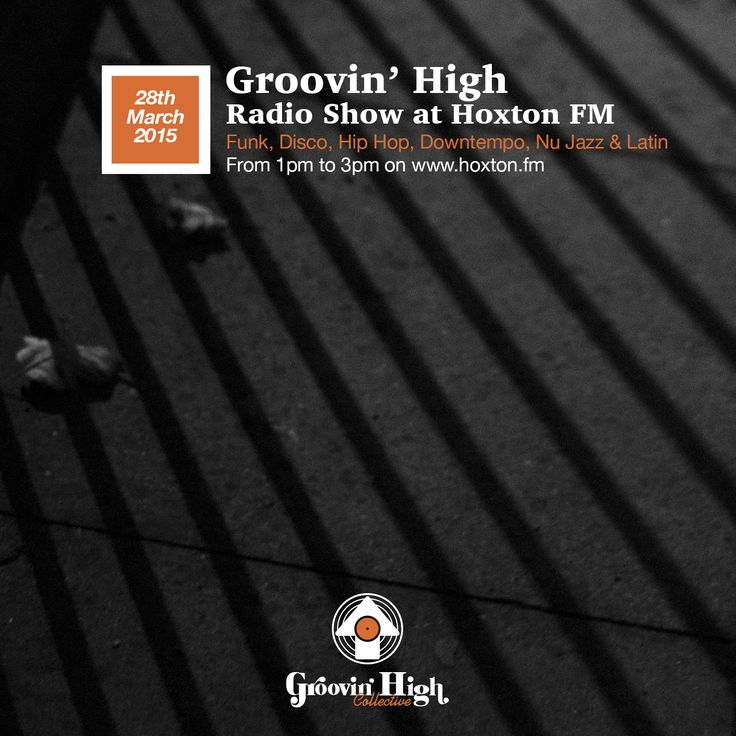 https://www.mixcloud.com/GroovinHighCollective/groovin-high-radio-hoxton-fm-05/  Groovin' High Radio @ Hoxton FM #05 (28/03/2015)  Hosted by Dj Bop Gun & David Pradera  Jingles beats by Dave Doma feat. Sid & Marina Samba  Cover by A. Rojo  Keep it locked for our monthly show every last saturday of the month. The next one will be on Saturday 25th, April from 1pm to 3pm (Uk time - Gmt+1) at www.hoxton.fm