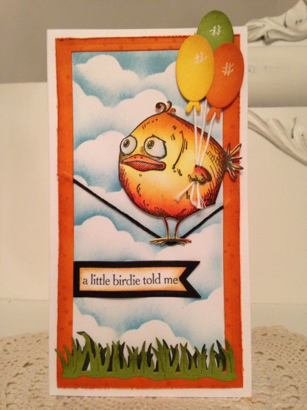 A little birdie told me by mitchygitchygoomy - Cards and Paper Crafts at Splitcoaststampers