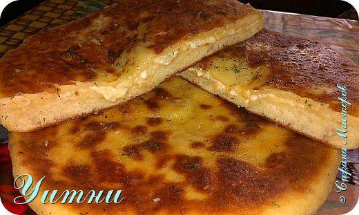 Кулинария Мастер-класс Рецепт кулинарный Горячее хачапури с сыром   + МК Продукты пищевые фото 1