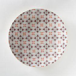 Assiette plate en faïence Ø26,5 cm (lot de 4) La Redoute Interieurs - Assiette