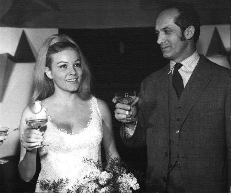 Olga Schoberová jako nevěsta