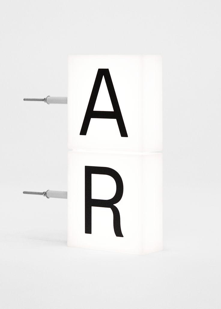 Arket — Exterior signage prototype