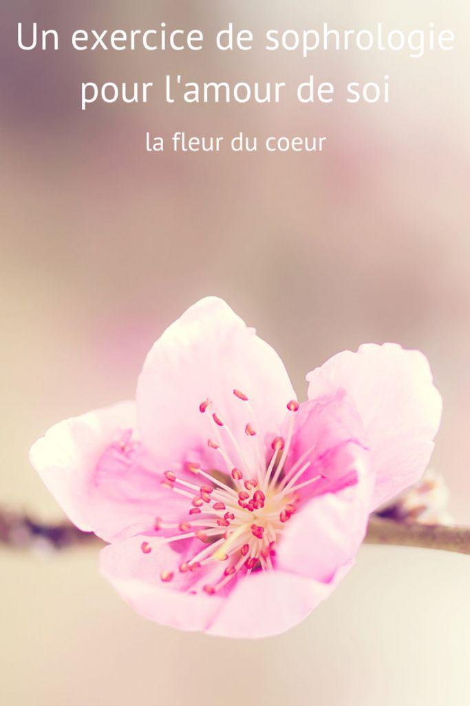 Un exercice de sophrologie pour l'amour de soi : la fleur du coeur
