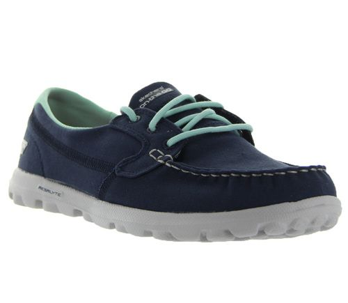 On the Go Clipper in Navy by Skechers