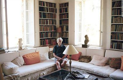 Patrick Leigh Fermor at home.