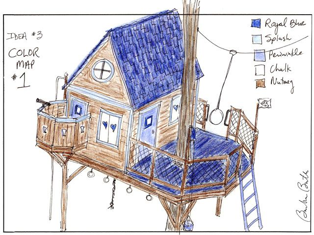 Kids Tree House Drawing 1000+ images about tree houses on pinterest | play houses