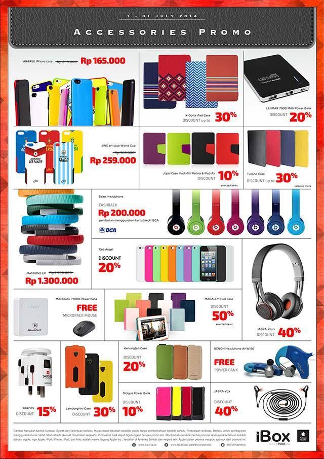 iBox: Promo Accesories @iBoxIndonesia
