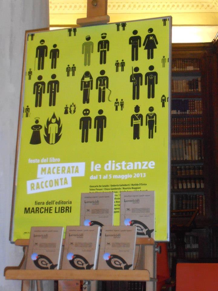 """""""Lavoricidi italiani"""" a Macerata: un libro tante storie, una tragedia tante vite."""