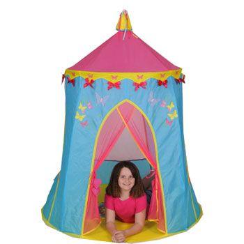 Butterflies & bows play tent