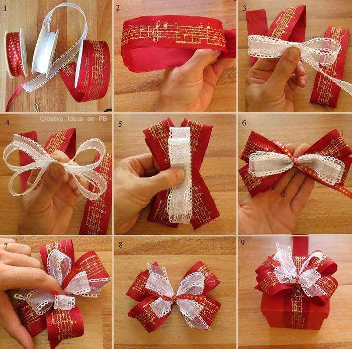 Add Sparkle to the Christmas gifts this year with these upbeat Christmas gift wrapping ideas. Use photo tags, pinecones, pompoms, etc. as gift wrap toppers.