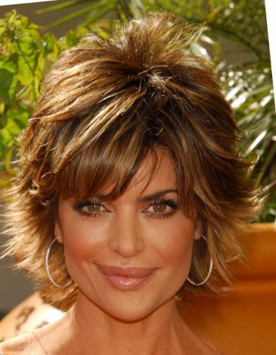 Lisa Rinna Layered Razor Cut -