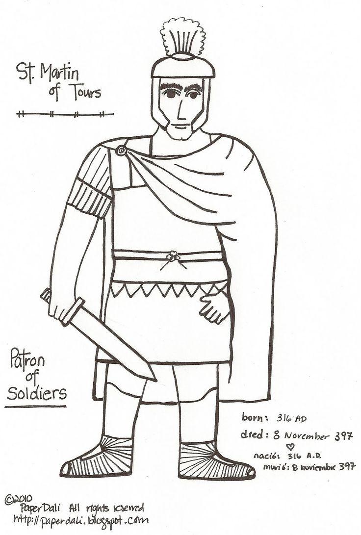 Paper Dali: Saint Martin of Tours
