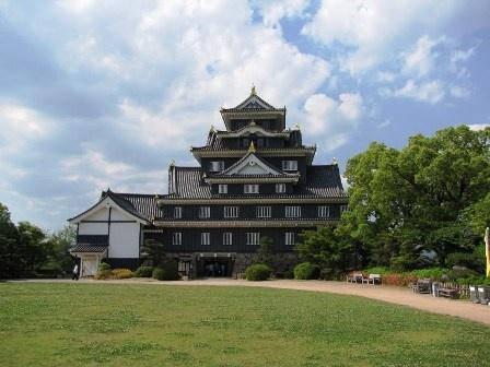 岡山城  Okayama-jo Castle