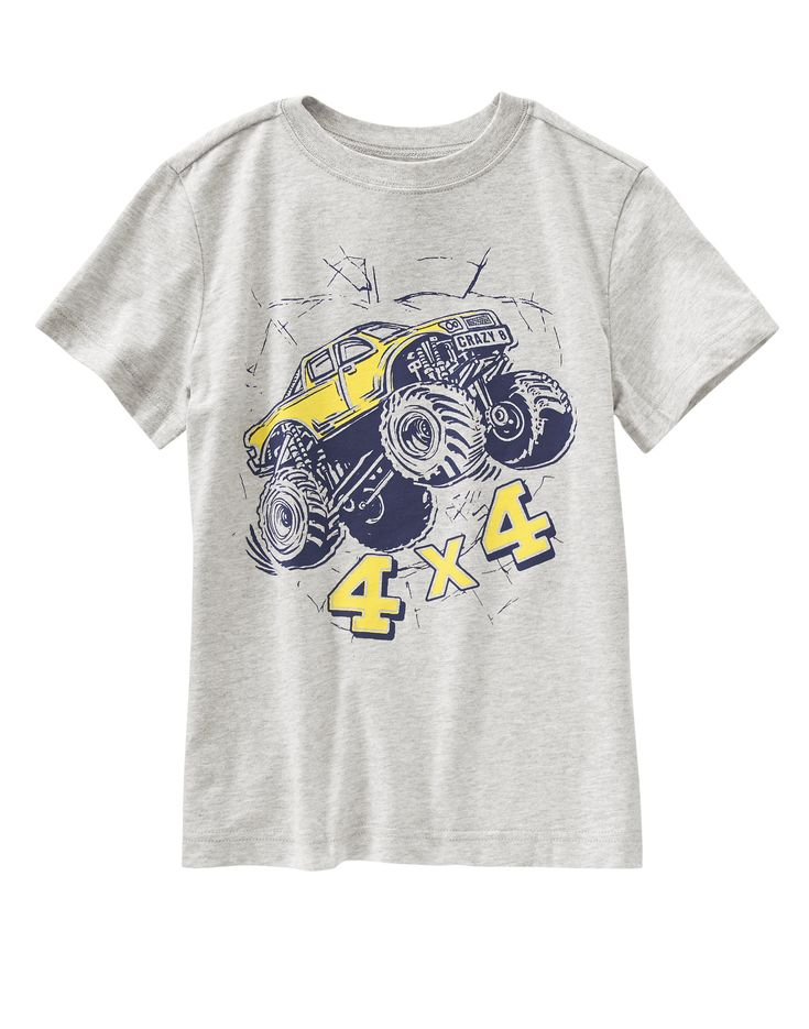 Monster Truck Tee at Crazy 8