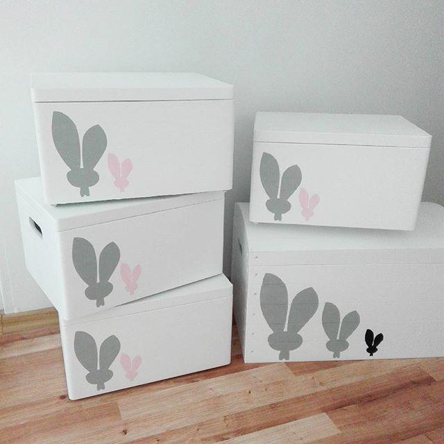 Króliczkowe szaleństwo :) Pakujemy i wysyłamy :-) #pokojdziecka #kidsroom…
