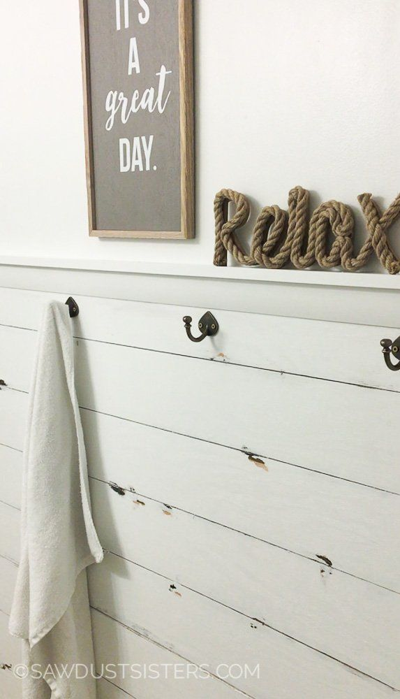 12 diy tutorial for shiplap wall from 8x4 sheet of plywood for 8x4 bathroom designs