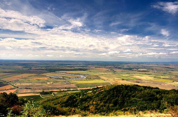 View from the Tokaj Hill (Tokaj Historical Wine Region)