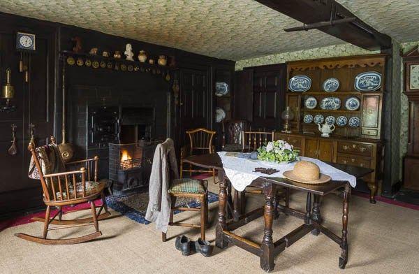 Kitchen at Hill Top Farm, Near Sawrey, Cumbria The Brit Crowd photo by National Trust, James Dobson Beatrix Potter