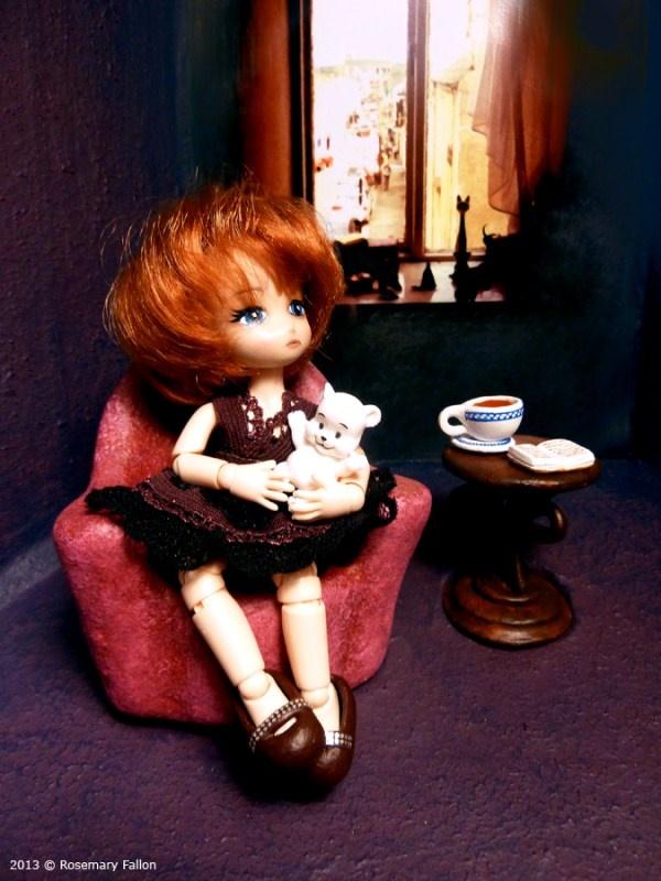 BabyBoo - Custom 1/12 BJD / Doll Box - the room!