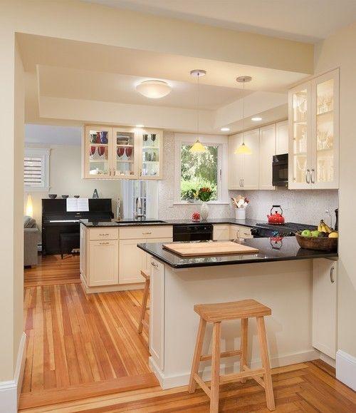Kitchen Soffit Decor Ideas: Best 25+ U Shaped Kitchen Ideas On Pinterest