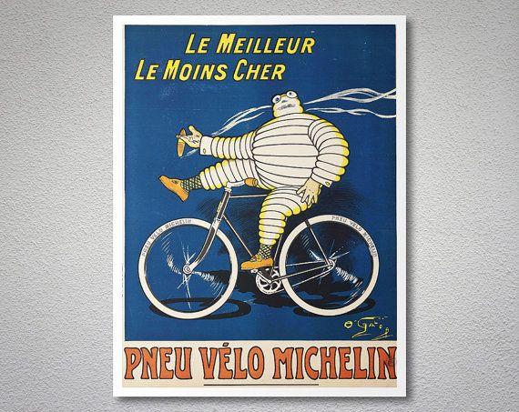 Le Meilleur Le Moins Cher Pneu Velo Michelin Vintage by WallsNeed