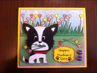 Masculine Birthday Cards Made With Cricut ~ A masculine birthday card for my dear hubby southern cricut lady