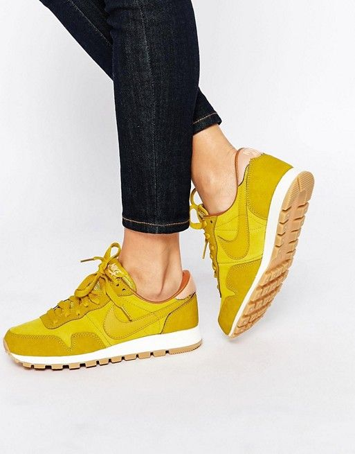 Shop Nike Air Pegasus Yellow Trainers at ASOS.
