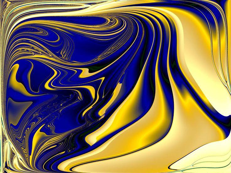 BLUE & GOLD ༺♡༻.Colour My Life¸.༺♡༻¸ Pinterest Blue