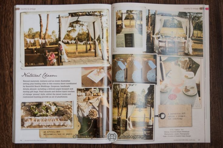 Published… Queensland Brides Winter 2013 Vintage Rustic Wedding » Chantilly Lace Photography