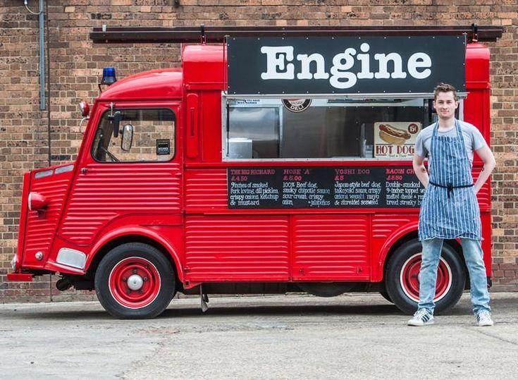 vintage street food van - Google Search
